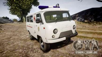 UAZ-39629 ambulância Hungria para GTA 4
