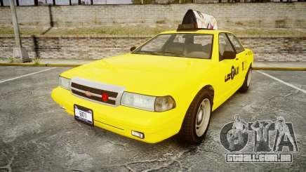 GTA V Vapid Taxi LCC para GTA 4