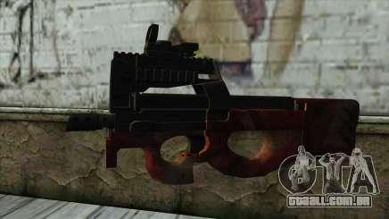 P90 from PointBlank v4 para GTA San Andreas