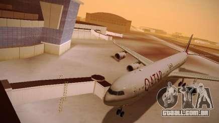 Airbus A340-600 Qatar Airways para GTA San Andreas