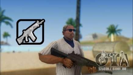 Israelenses carabina ÁS 21 para GTA San Andreas