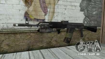 AK-101 com a segurança dos nossos (Battlefield 2) para GTA San Andreas