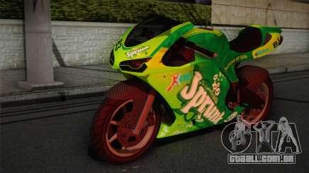 Bati RR 801 Sprunk para GTA San Andreas