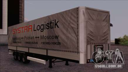 Krone SPD27 Systra Logistik para GTA San Andreas