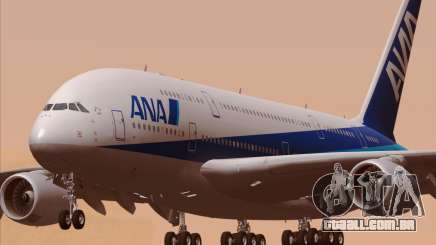 Airbus A380-800 All Nippon Airways (ANA) para GTA San Andreas