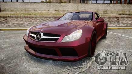 Mercedes-Benz SL 65 AMG Black Series para GTA 4