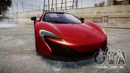 McLaren 650S Spider 2014 [EPM] Michelin v2 para GTA 4