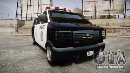Declasse Burrito Police para GTA 4