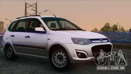 Lada Kalina 2 Vagão para GTA San Andreas
