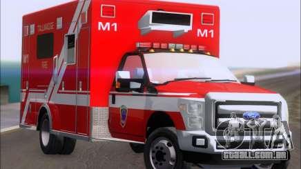 Ford F-350 Super Duty TFD Medic 1 para GTA San Andreas