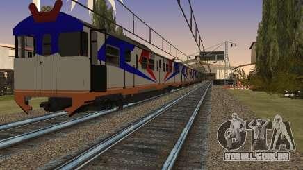 Indonésia trem de diesel MCW 302 para GTA San Andreas