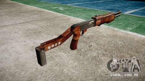 Ружье Franchi SPAS-12 Bacon para GTA 4 segundo screenshot