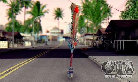 Меч (World Of Warcraft) v2 para GTA San Andreas segunda tela