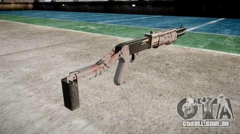 Ружье Franchi SPAS-12 de flor de Cerejeira para GTA 4 segundo screenshot