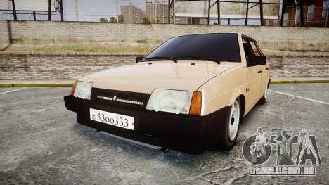 VAZ-2109 BRAÇO para GTA 4