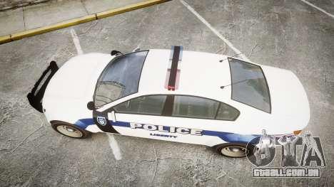 GTA V Cheval Fugitive LS Liberty Police [ELS] para GTA 4 vista direita
