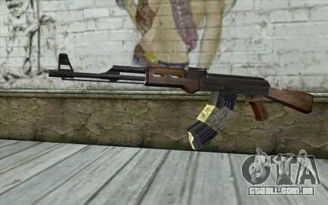 AK47 from Firearms v2 para GTA San Andreas