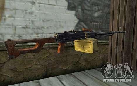 A Metralhadora Kalashnikov Modernizado para GTA San Andreas segunda tela