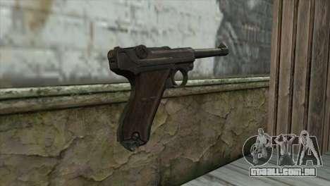 Luger P-08 para GTA San Andreas segunda tela
