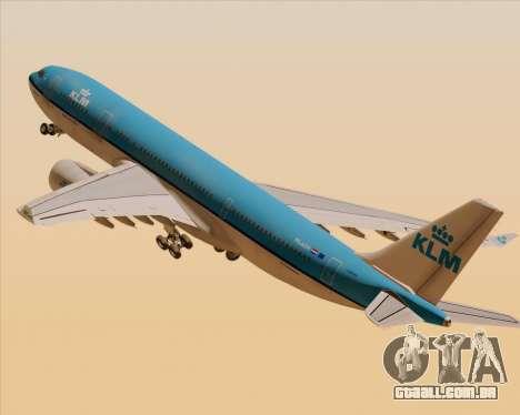Airbus A330-200 KLM - Royal Dutch Airlines para GTA San Andreas