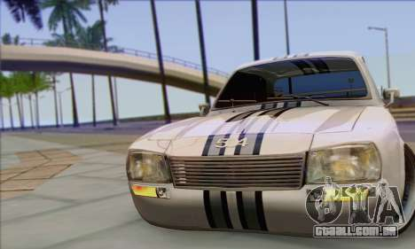 Peugeot 504 Drift Tuning para GTA San Andreas vista direita