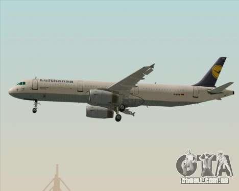 Airbus A321-200 Lufthansa para o motor de GTA San Andreas