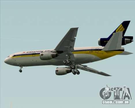 McDonnell Douglas DC-10-30 Singapore Airlines para o motor de GTA San Andreas
