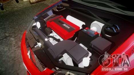 Mitsubishi Lancer Evolution IX Fast and Furious para GTA 4 vista lateral