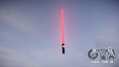 Laser espada para GTA 4