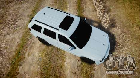 Jeep Grand Cherokee SRT8 stock para GTA 4 vista direita