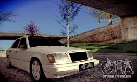 Mercedes-Benz E320 Delta Garage para GTA San Andreas vista direita