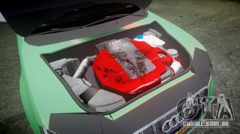 Audi S4 2010 FF Edition para GTA 4 vista interior
