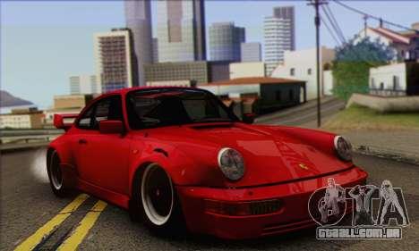 Porsche 930 Turbo Look 1985 Tunable para GTA San Andreas vista direita