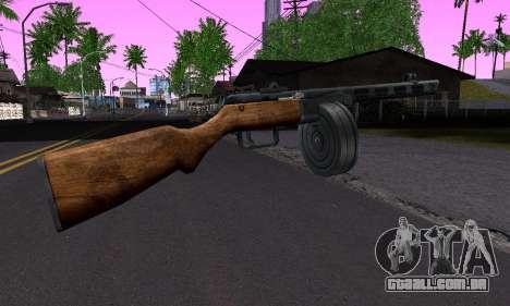 Arma Shpagina para GTA San Andreas segunda tela