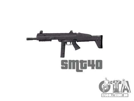 Arma SMT40 com bunda icon1 para GTA 4 terceira tela