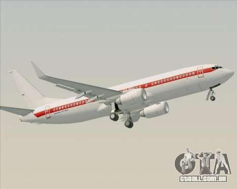 Boeing 737-800 EG&G - Janet para o motor de GTA San Andreas