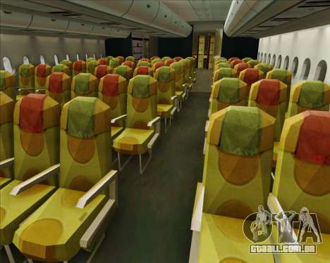 Airbus A380-800 Skymark Airlines para as rodas de GTA San Andreas