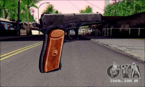 OTS-33 Mace para GTA San Andreas segunda tela