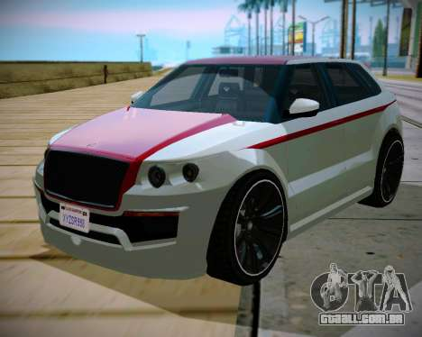 Huntley S para GTA San Andreas