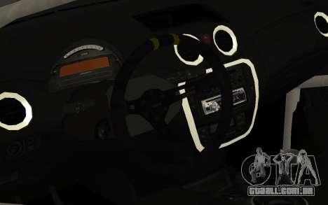 Citroen C2 para GTA San Andreas vista traseira
