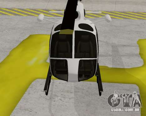 Buckingham Maverick V1.0 para GTA San Andreas esquerda vista