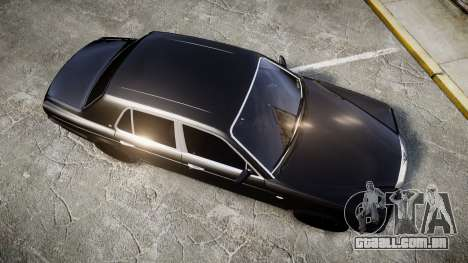 Bentley Arnage T 2005 Rims2 Chrome para GTA 4 vista direita