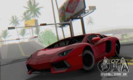 Lamborghini Avendator LP700-4 2012 para GTA San Andreas