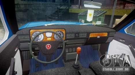 GÁS-24-12 Volga Wh2 para GTA 4 vista de volta