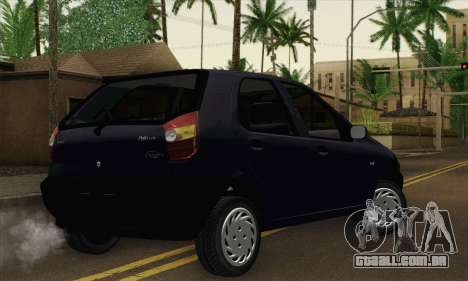 Fiat Palio EDX 1997 para GTA San Andreas esquerda vista
