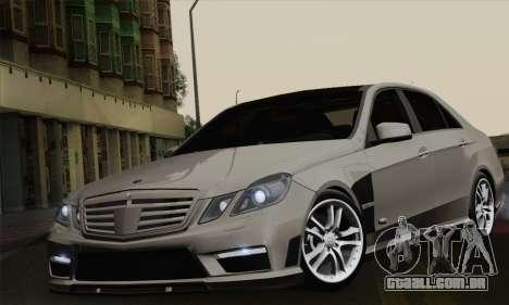 Mercedes-Benz W212 para GTA San Andreas