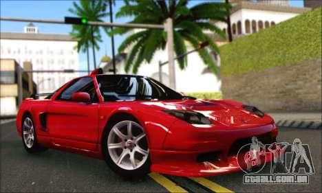 Honda NSX 2005 para GTA San Andreas