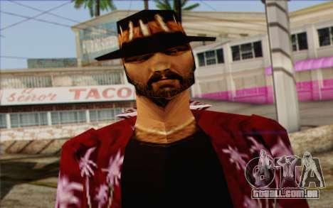 Cartel from GTA Vice City Skin 1 para GTA San Andreas terceira tela
