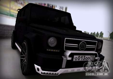Brabus 800 para GTA San Andreas