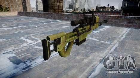 Grande calibre sniper rifle para GTA 4 segundo screenshot